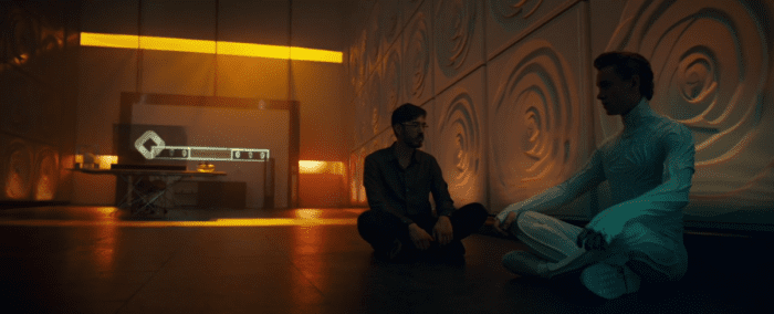 The CEO brought back Technical Boy, but at what cost? They sit together in the American Gods Season 2 finale