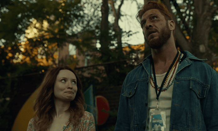 "Laura Moon and Mad Sweeney meet again in NOLA in American Gods' ""The Ways of the Dead."""