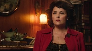 Audrey Horne Angry