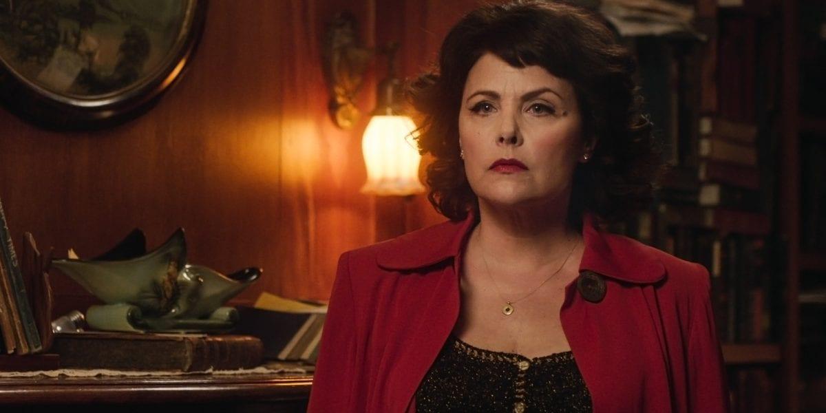 Season 3 Audrey Horne looks angry