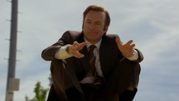 """Bob Odenkirk as Jimmy McGill in the Better Call Saul pilot episode """"Uno"""""""