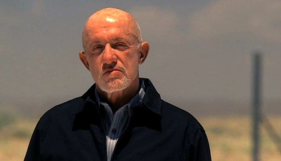 Mike Ehrmantraut in Breaking Bad
