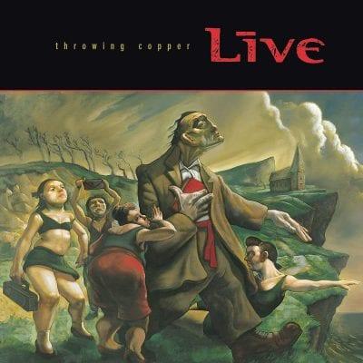 Live Throwing Cooper Album cover