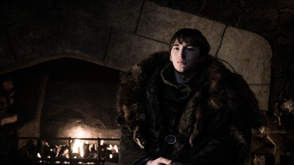 Bran Stark aka the Three-Eyed Raven in the Season 8 premiere of Game of Thrones