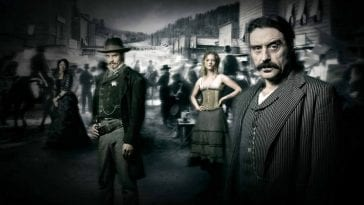 Members of the cast of HBO's Deadwood