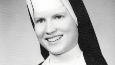 Sister Cathy Cesnik image from The Keepers on Netflix