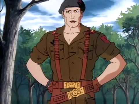 Flint is the new Duke in GI Joe's second season episodes.