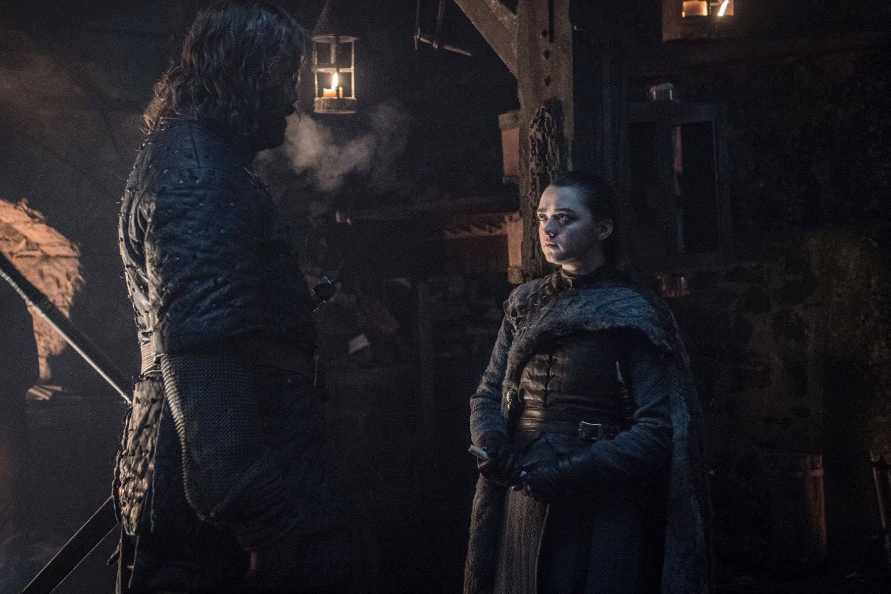 Arya Stark and The Hound are reunited in the Season 8 premiere of Game of Thrones
