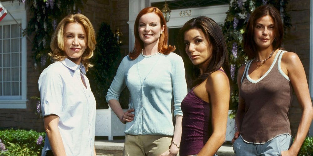 Felicity Huffman, Marcia Cross, Eva Longoria, and Teri Hatcher in Desperate Housewives