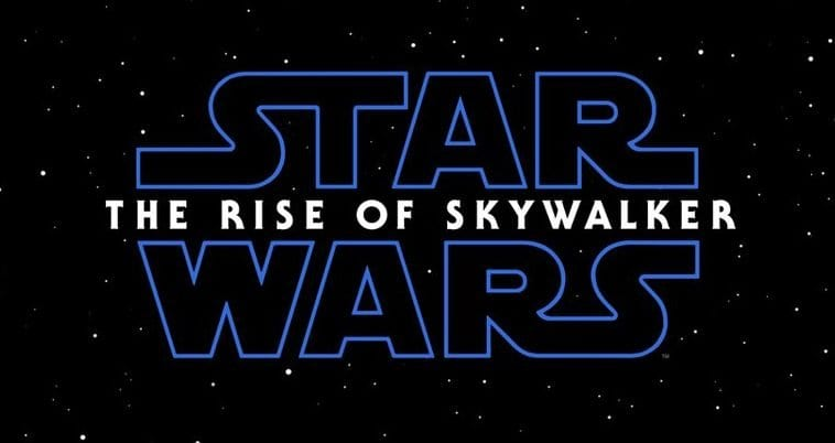 The Rise of Skywalker teaser poster reveals the film's title.