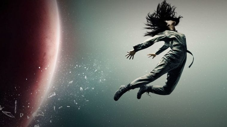 A woman is expelled into space in Syfy's The Expanse