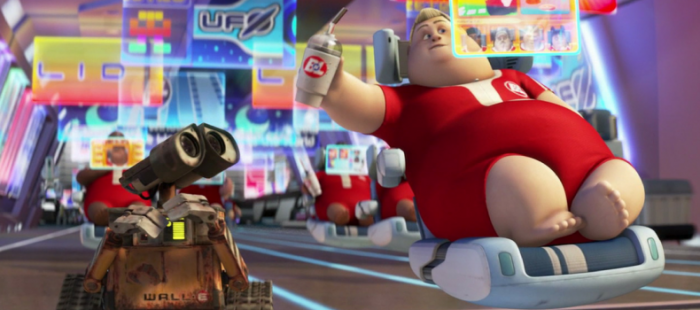 humans in WALL-E