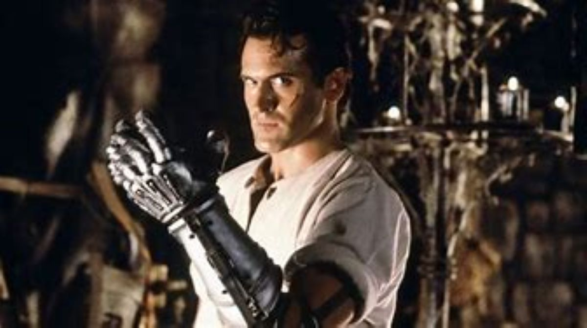 Bruce Campbell in Army of Darkness.