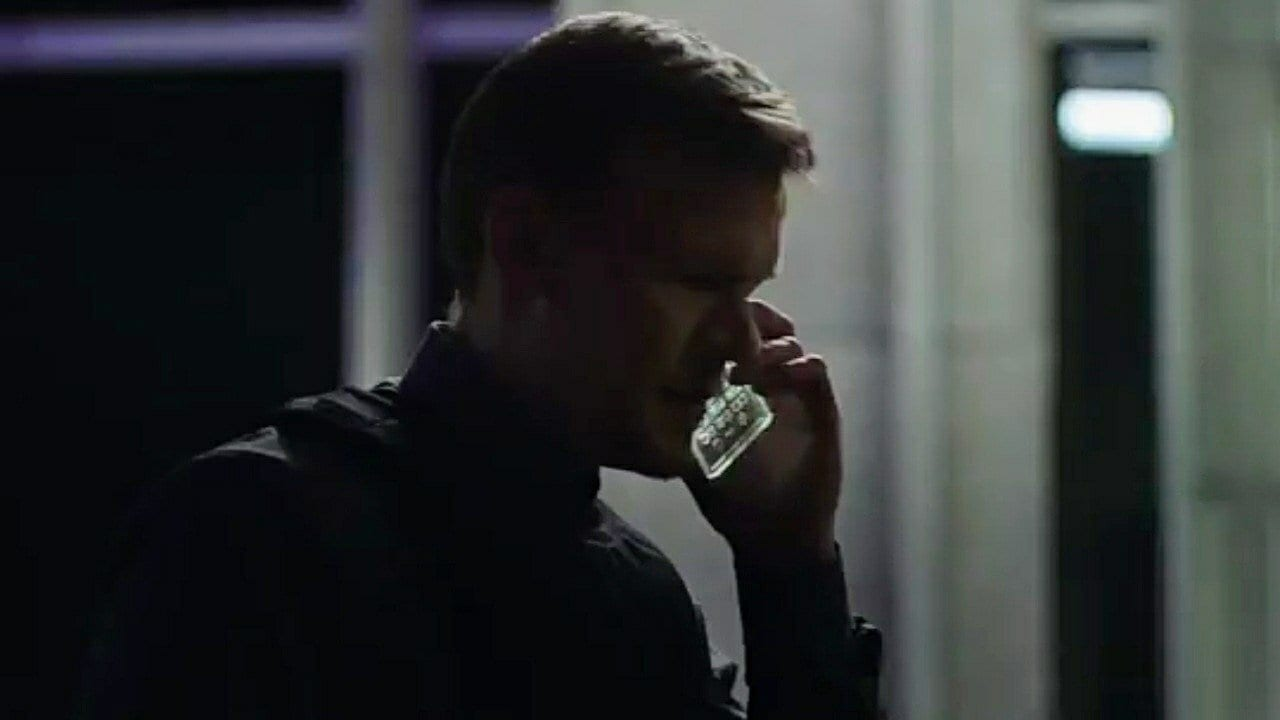 Counterpart - Agent calls in on an unusual cell phone