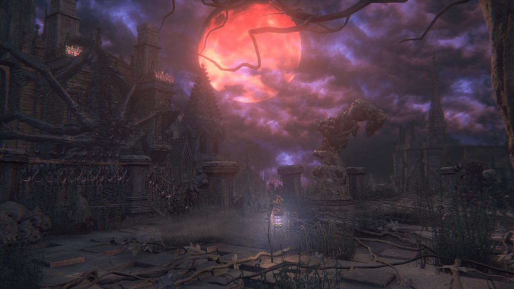 The lantern in Yahar'Gul, The Unseen Village in Bloodborne