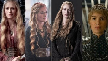 Cersei Lannister collage