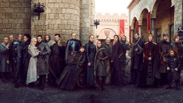 The cast of the final season of Game of Thrones