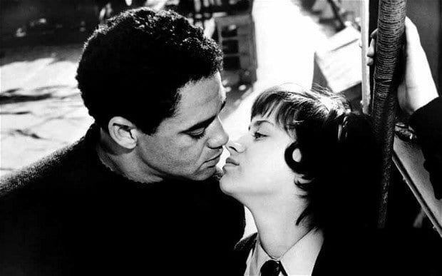 Jo and Jimmy kiss in A Taste of Honey
