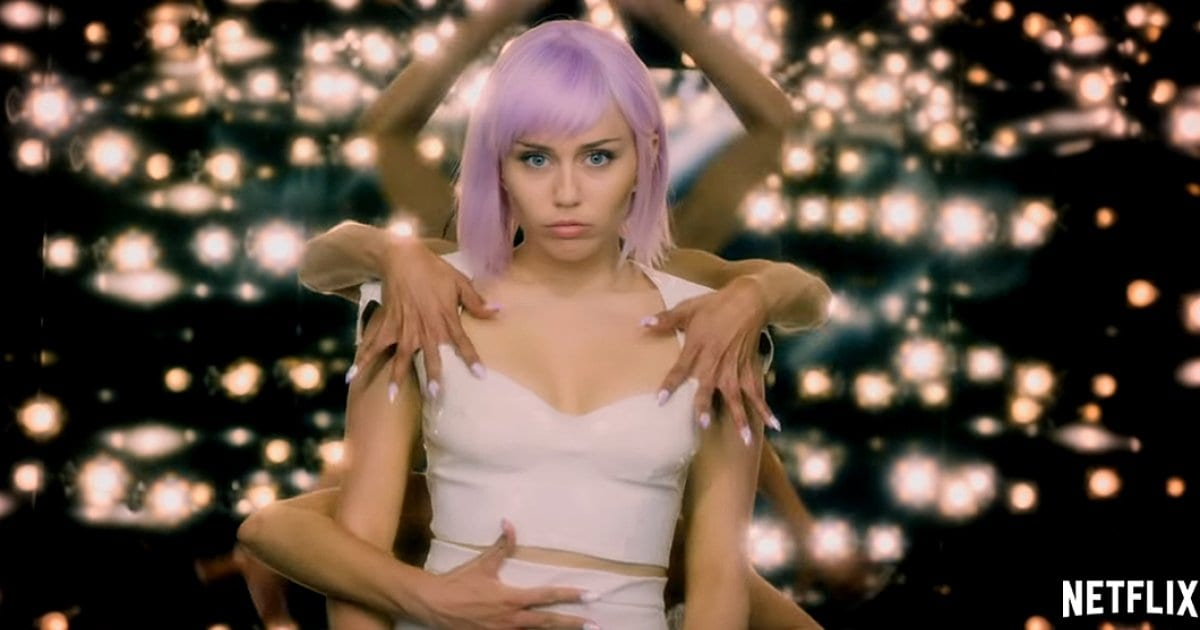 Miley Cyrus, Season 5 of Black Mirror as a mega Pop Star