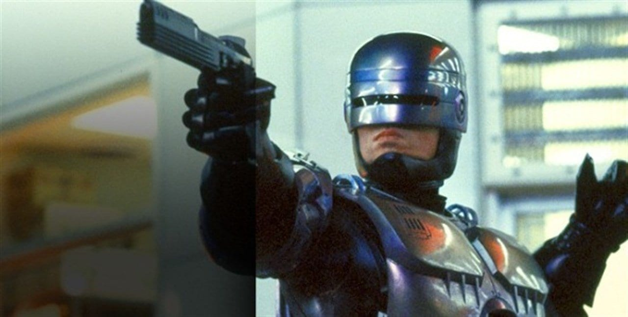 When Robocop (Peter Weller) says comply, you comply.