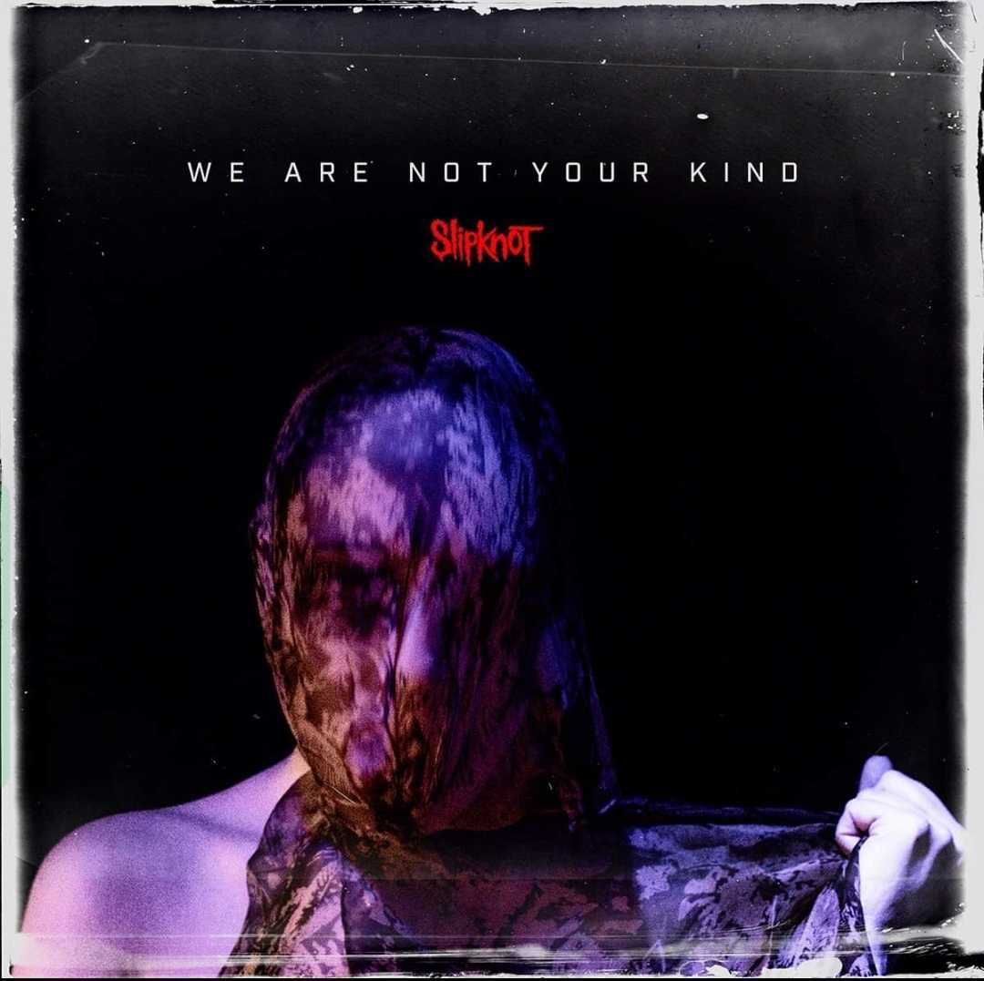 The album cover for Slipknot's forthcoming We Are Not Your Kind