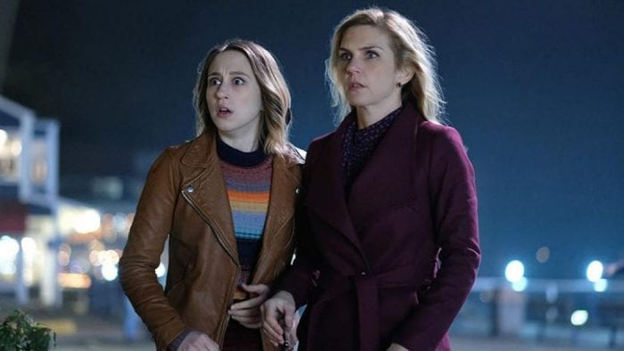 "Taissa Farmiga and Rhea Seehorn in ""Not All Men"", The Twilight Zone's 7th episode"