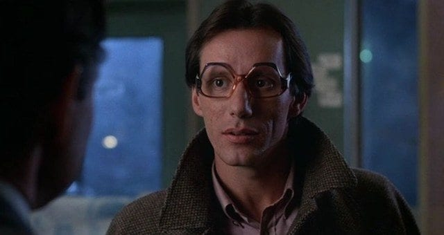 Max finally meets the shadowy Barry Convex representing the shadowy people behind Videodrome in an eyeglasses store of all places.