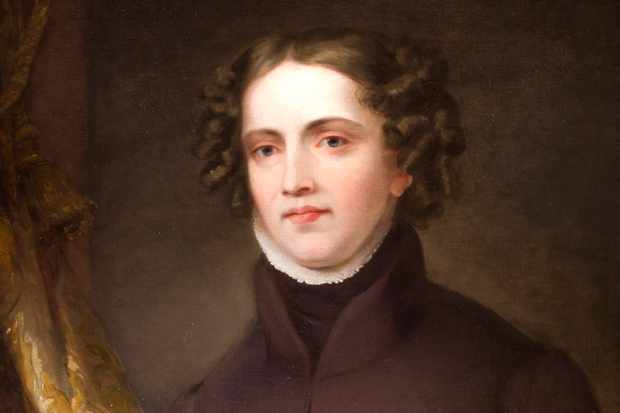 A portrait of Anne Lister as an adult.