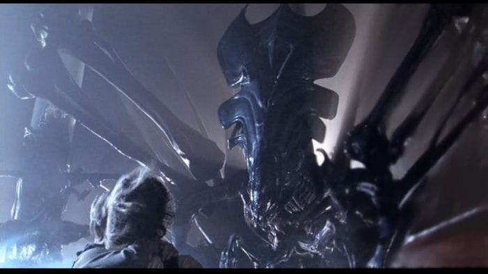 The alien queen in Aliens