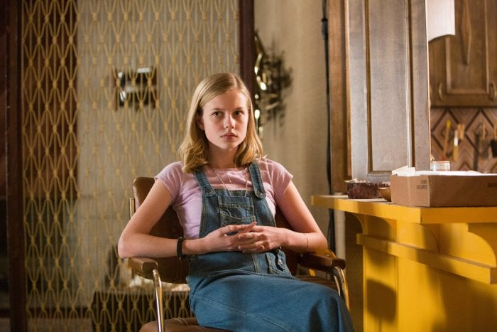 Angourie Rice is smarty pants Holly in Shane Black's The Nice Guys