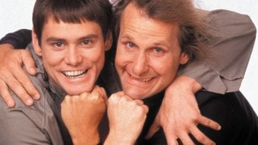 Jim Carrey & Jeff Daniels in Dumb and Dumber