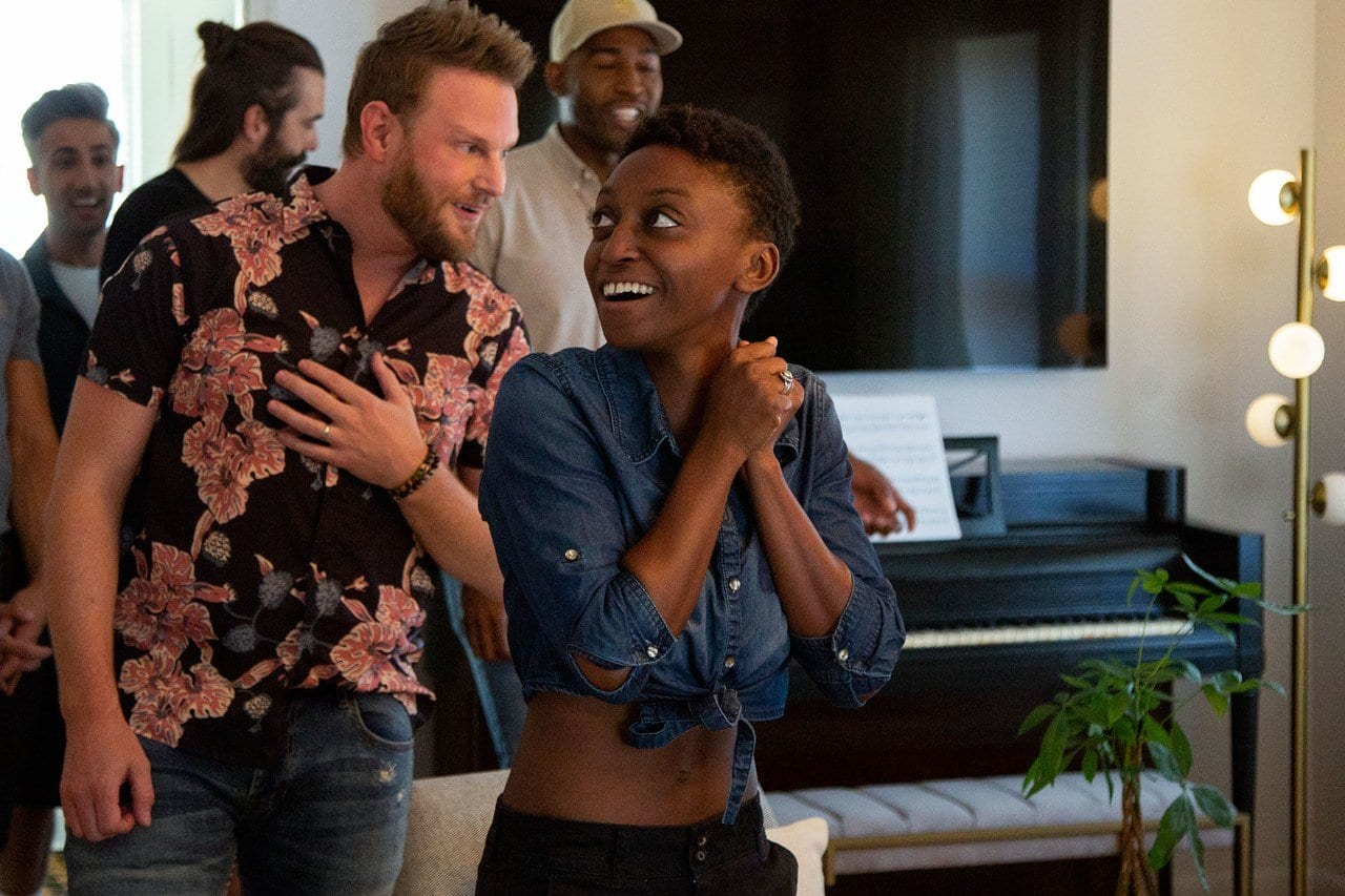 """The Fab Five reveal Jess Gilbeaux's new home to her in Queer Eye's """"Black Girl Magic"""""""