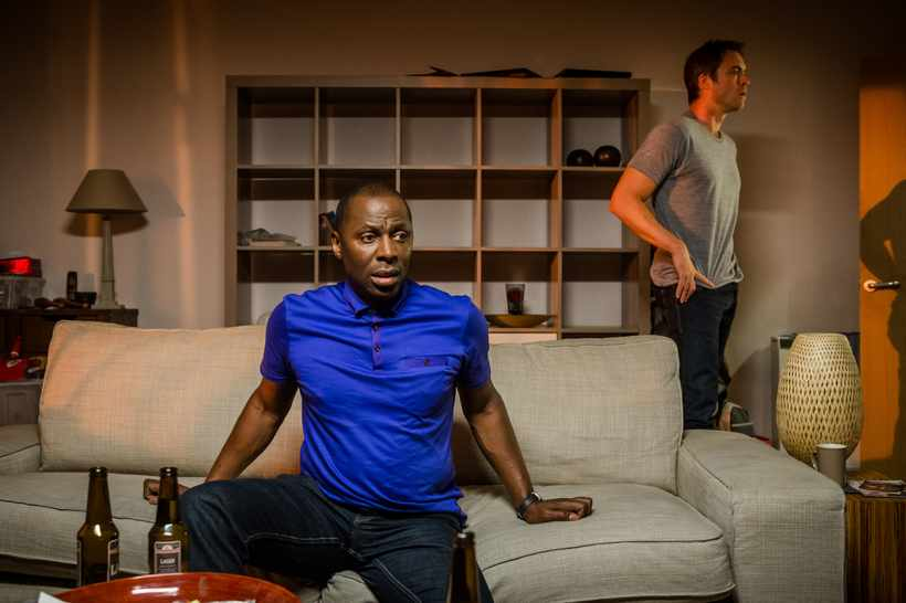 Cyril Nri as Lance and James Murray as Daniel in Cucumber