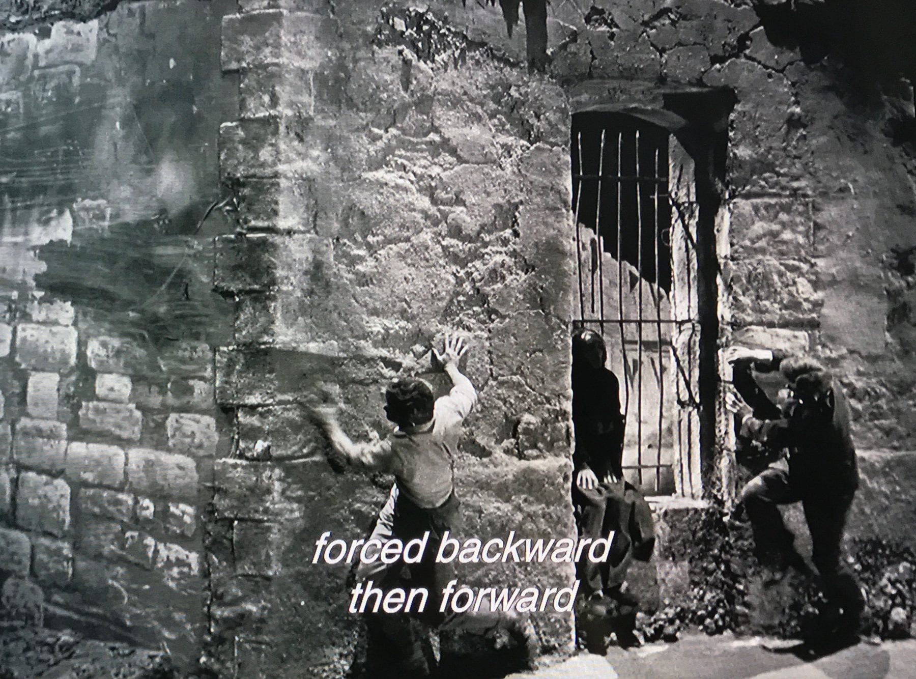 Cocteau references his first film, The Blood of a Poet