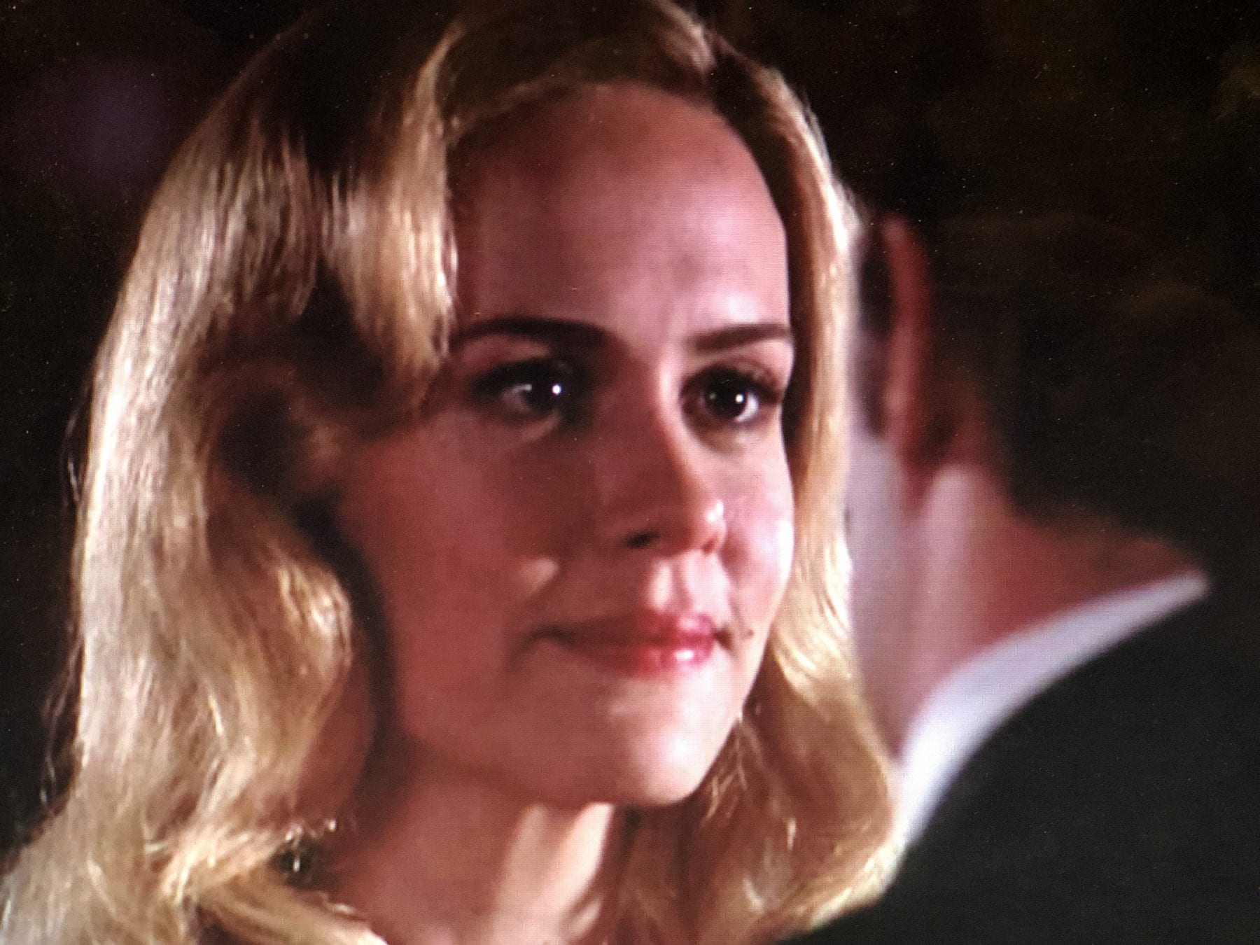 Sarah Paulson as Harriet Hayes in Studio 60 on the Sunset Strip