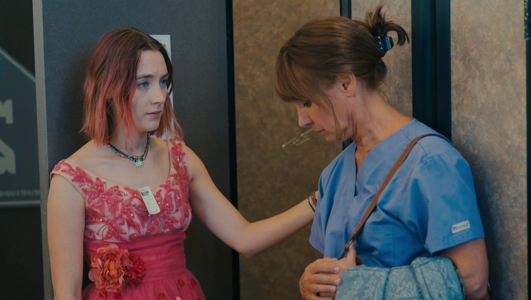 Lady Bird and her mom