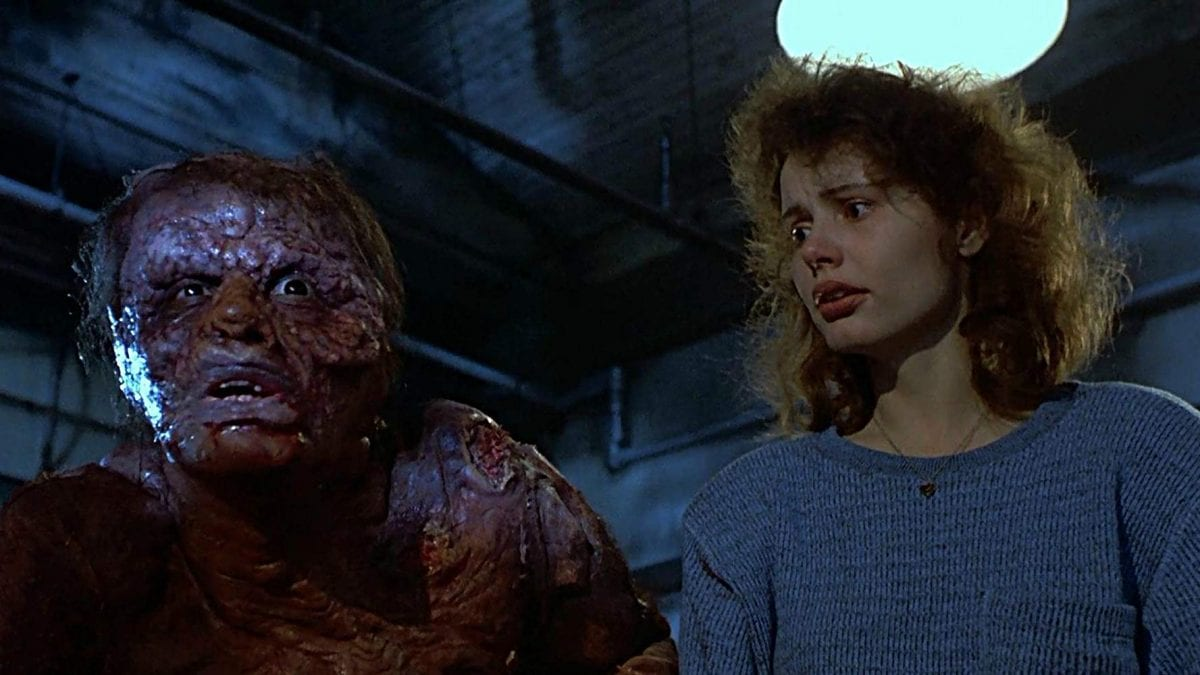 David Cronenberg's The Fly starring Jeff Goldblum and Geena Davis