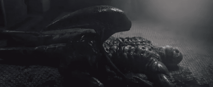 The Reveal of the Deacon in Prometheus