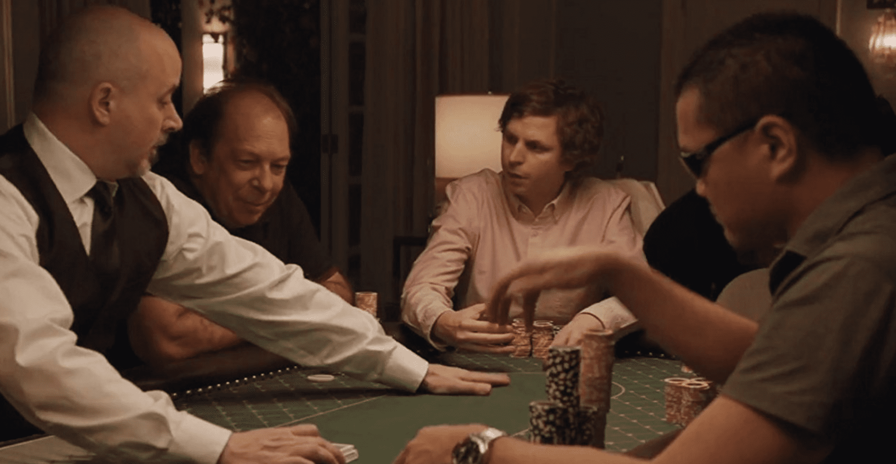 Player X and others, at the poker table