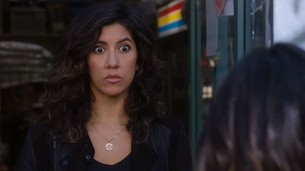 Rosa Diaz has a bisexual panic attack on Brooklyn Nine-Nine