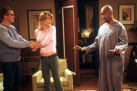 Stewart decides to settle down with Michelle but still has to deal with his roommate Carter in Spin City