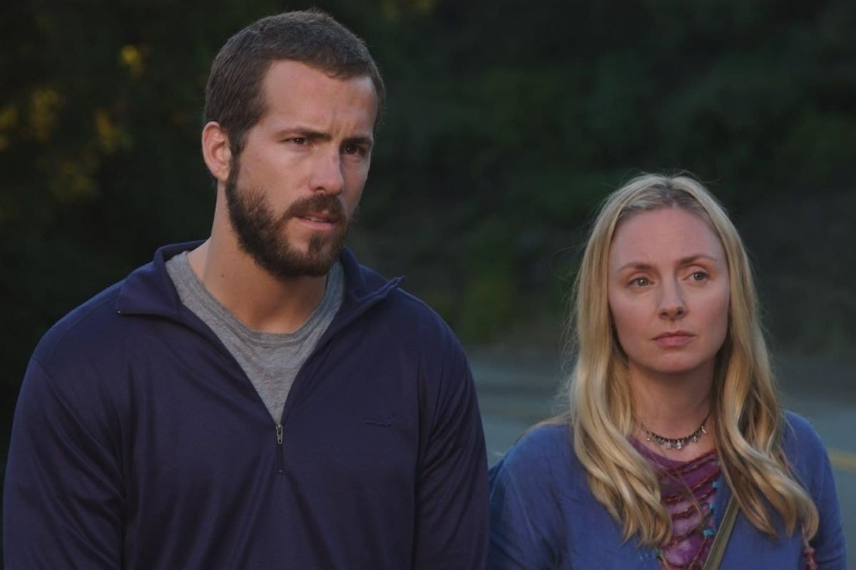 Ryan Reynolds and Hope Davis in the final section of The Nines.