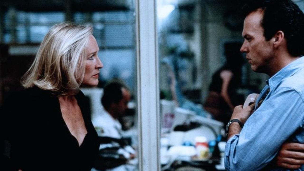 Glenn Close and Michael Keaton star in The Paper.