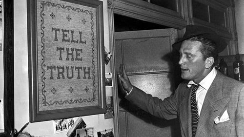 """Tell the Truth"", a motto Tatum (Kirk Douglas) has trouble following in Billy Wilder's Ace in the Hole"