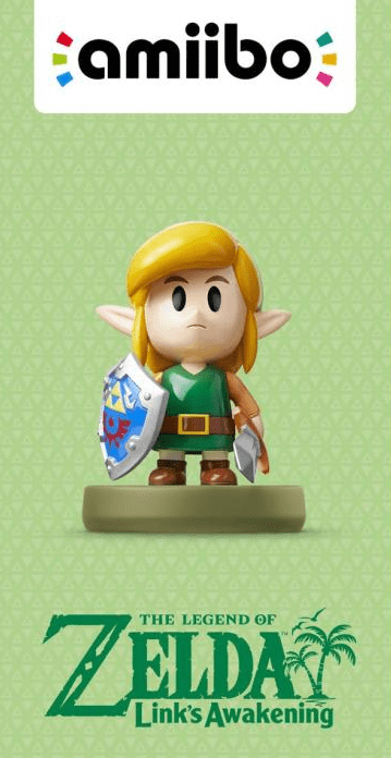 A first look at the Link's Awakening Link Amiibo