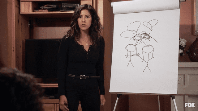 Rosa Diaz comes out to her parents through a game of Pictionary on Brooklyn Nine-Nine