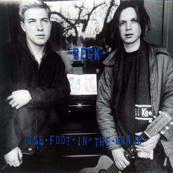 Beck's album cover for One Foot In The Grave.
