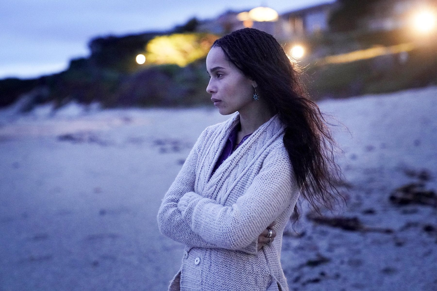 Zoe Kravitz as Bonnie in season two of Big Little Lies