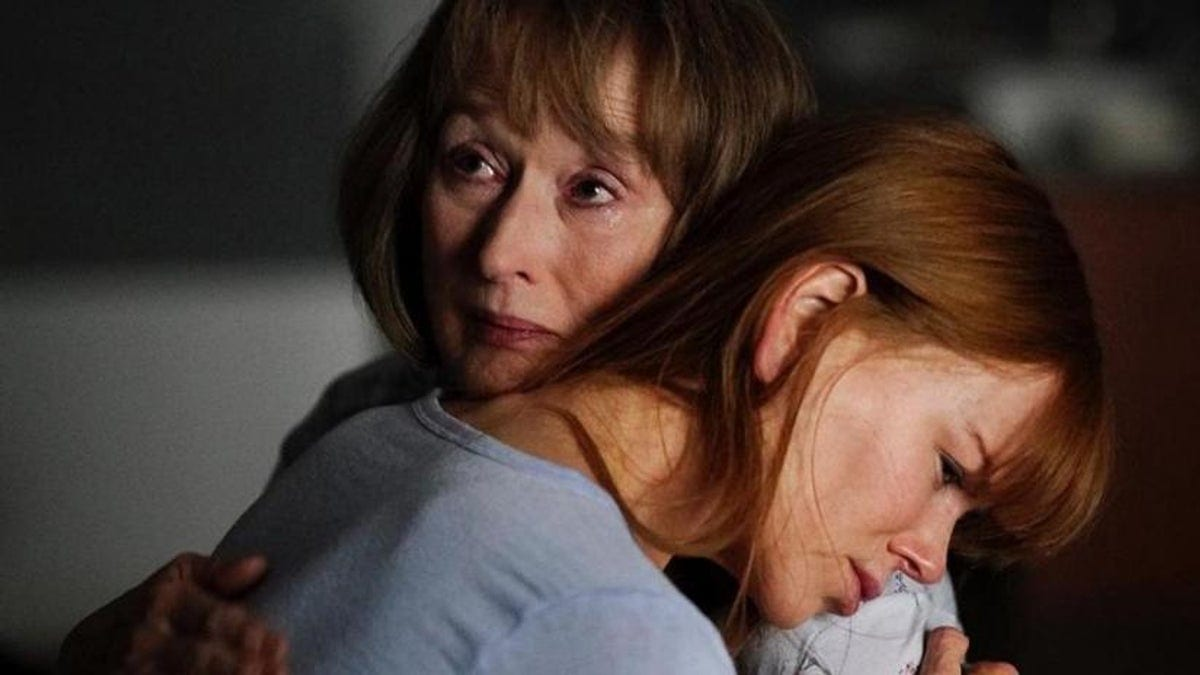 Meryl Streep and Nicole KIdman as Mary Louise and Celeste in the season two premiere of Big Little Lies