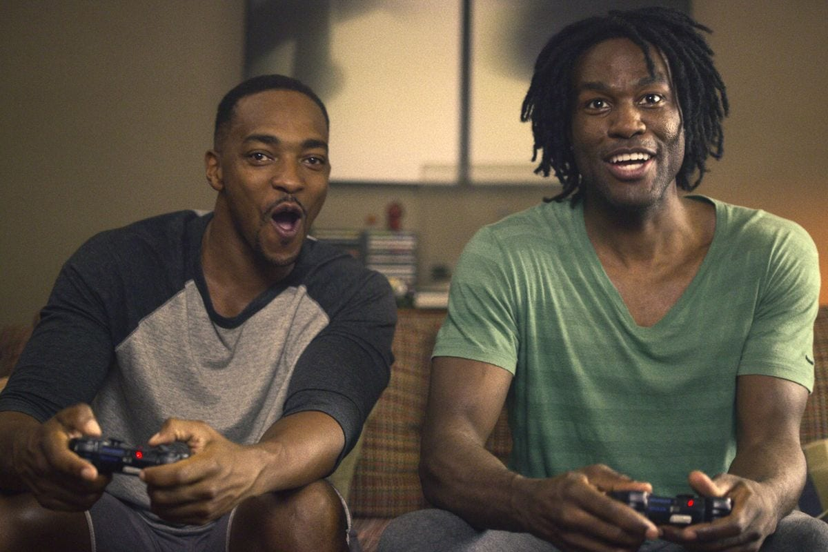 Danny and Karl play video games in Black Mirror